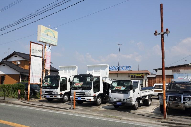 トラック展示場